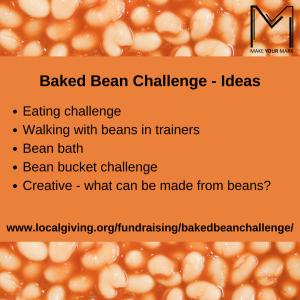 Baked Bean Fundraising Challenge